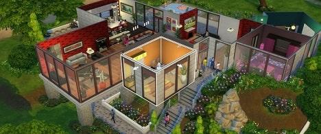 Casa Gran Hermano Sims